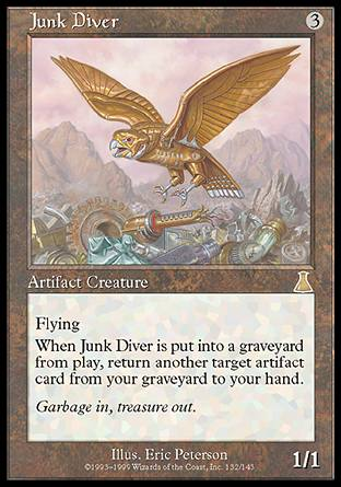 Junk Diver. (c) 2013 Wizards of the Coast.
