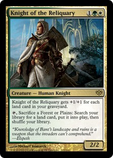 Knight of the Reliquary. (c)  2013 Wizards of the Coast.
