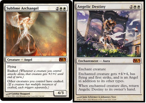 Sublime Archangel vs Angelic Destiny