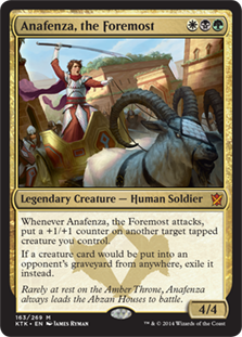 First and foremost, let me sing you the song of my +1/+1 counters.