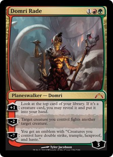 Domri's stature is misleading in terms of the amount of value he provides.