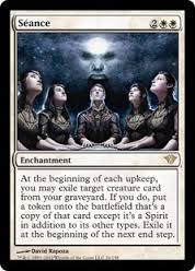 Seance for value.