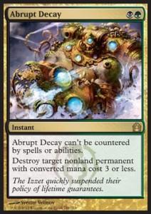 AbruptDecaycard