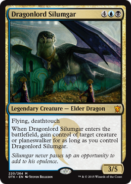 Since he stopped drifting, Silumgar began to put on a belly.
