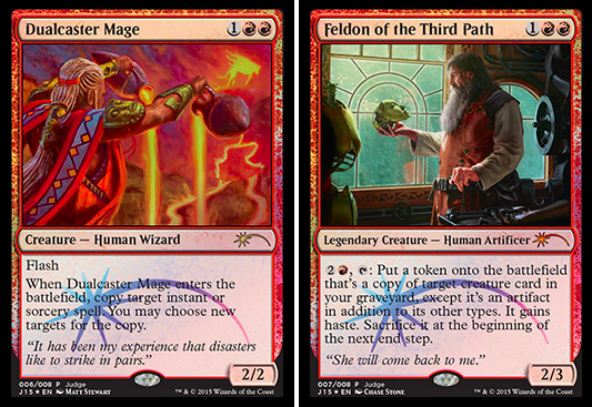 judge foil dual feldon