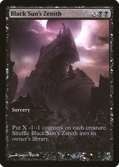 Black Sun's Zenith Game Day