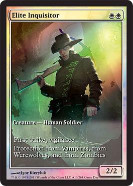 Elite Inquisitor Game Day