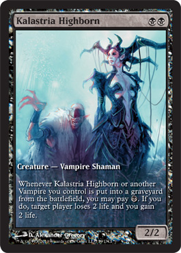 Kalastria Highborn Game Day Promo