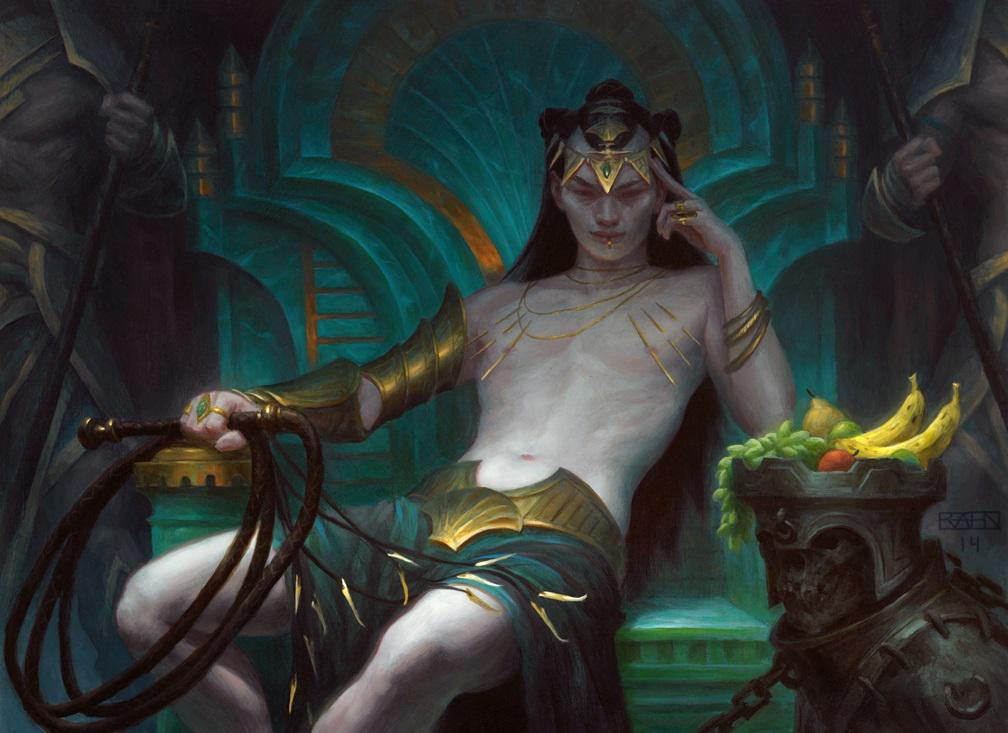 Tasigur the Golden Fang by Chris Rahn from artofmtg.