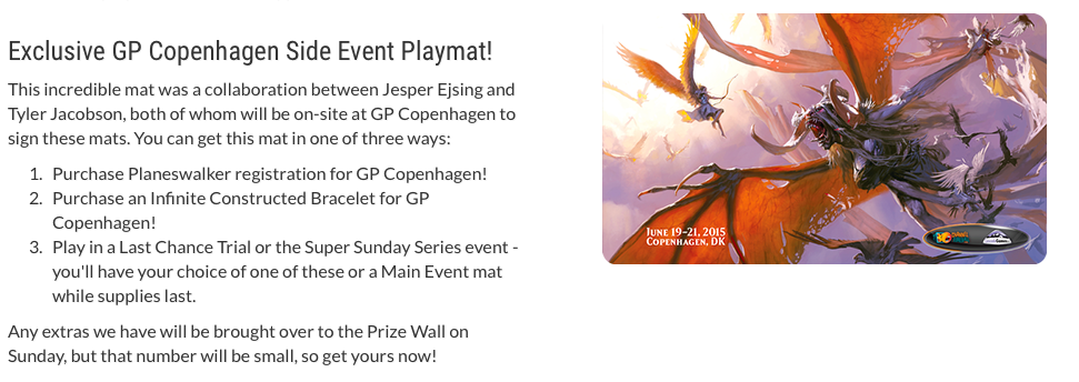 GP Copenhagen Side Events Playmat