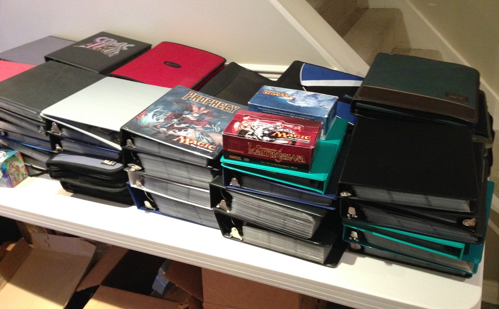 60+ binders of MTGFinance goodness.