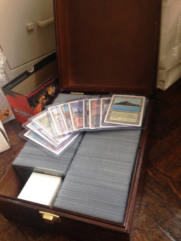 A full set of NM Revised in a custom box.