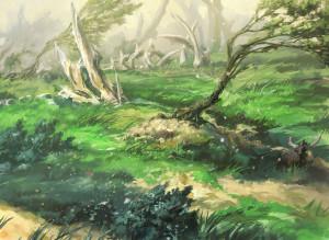 Windswept Heath by Yeong-Hao Han