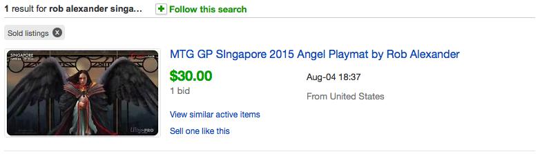 GP Singapore Rob Alexander Special