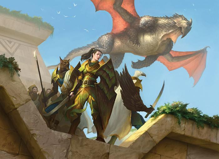 Dromoka's Command by James Ryman