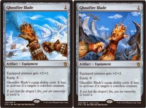 mtg ghostfire blade