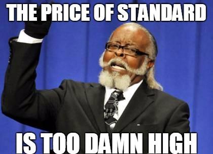 price of std