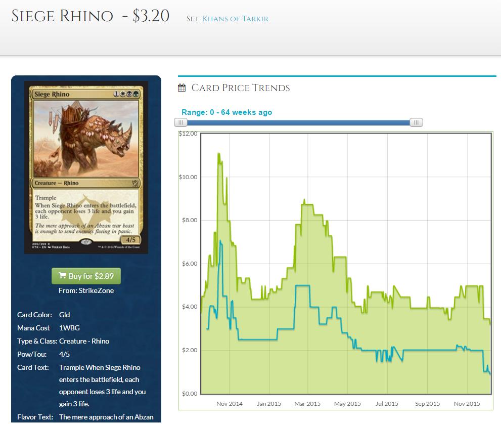 siege rhino price 2