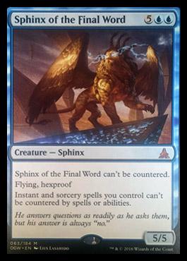 sphinxofthefinalword