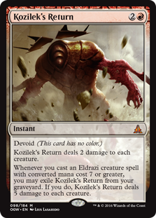 kozilek's return 2