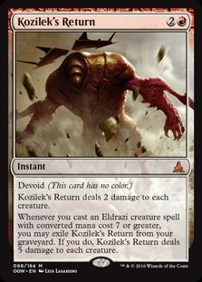 kozilek's return 2