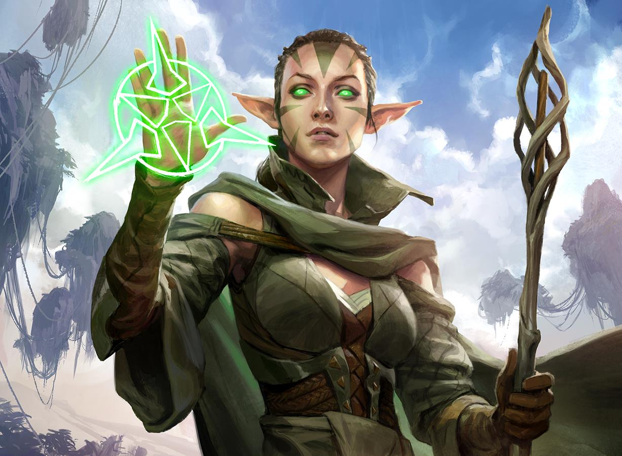 Oath of Nissa by Wesley Burt