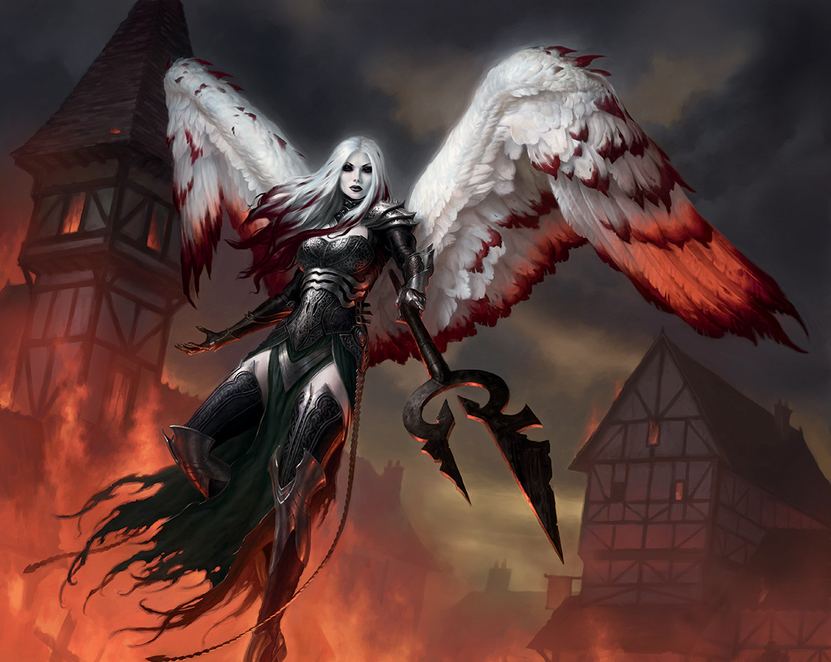 Avacyn-the-Purifier-MtG-Art