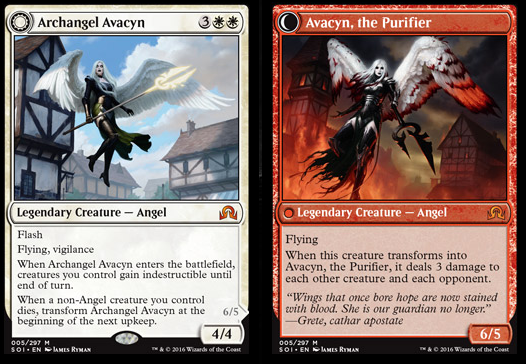 Archangel Avacyn / Avacyn, the Purifier