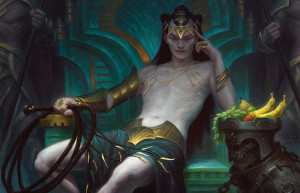 Tasigur, the Golden Fang by Chris Rahn