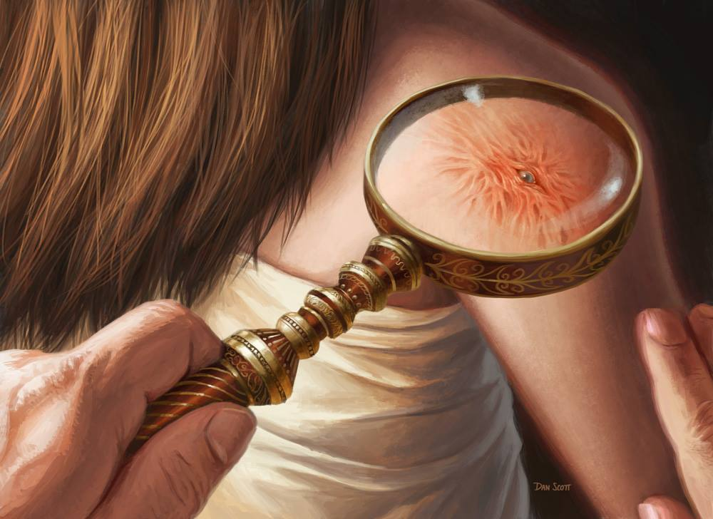 Magnifying-Glass-Shadows-over-Innistrad-Art