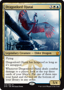 Is Dragonlord Ojutai elite?
