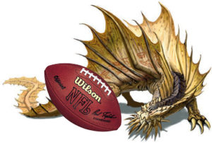 Fantasy sports WOULD be cooler if Monster Manuals were involved.