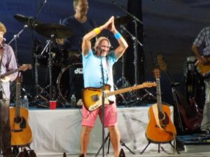 Legacy events will be like Jimmy Buffett concerts- fins to the left, fins to the right.