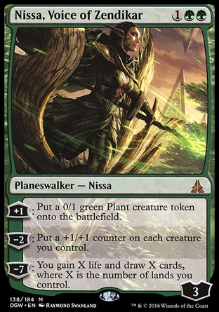 nissa voice of zendikar