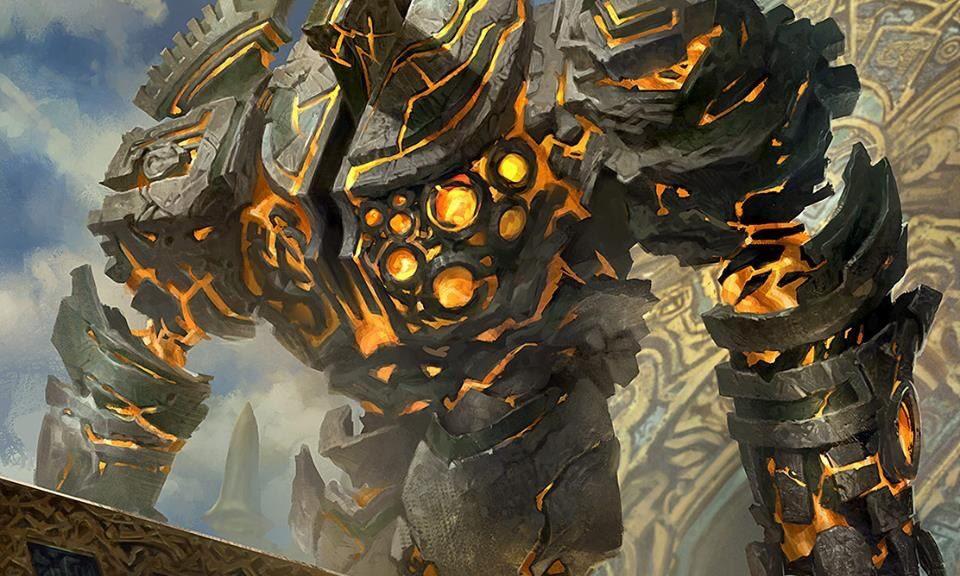 Rascunho do Spectro - Página 2 Golden-Guardian-Rivals-of-Ixalan-MtG-Art-960x576