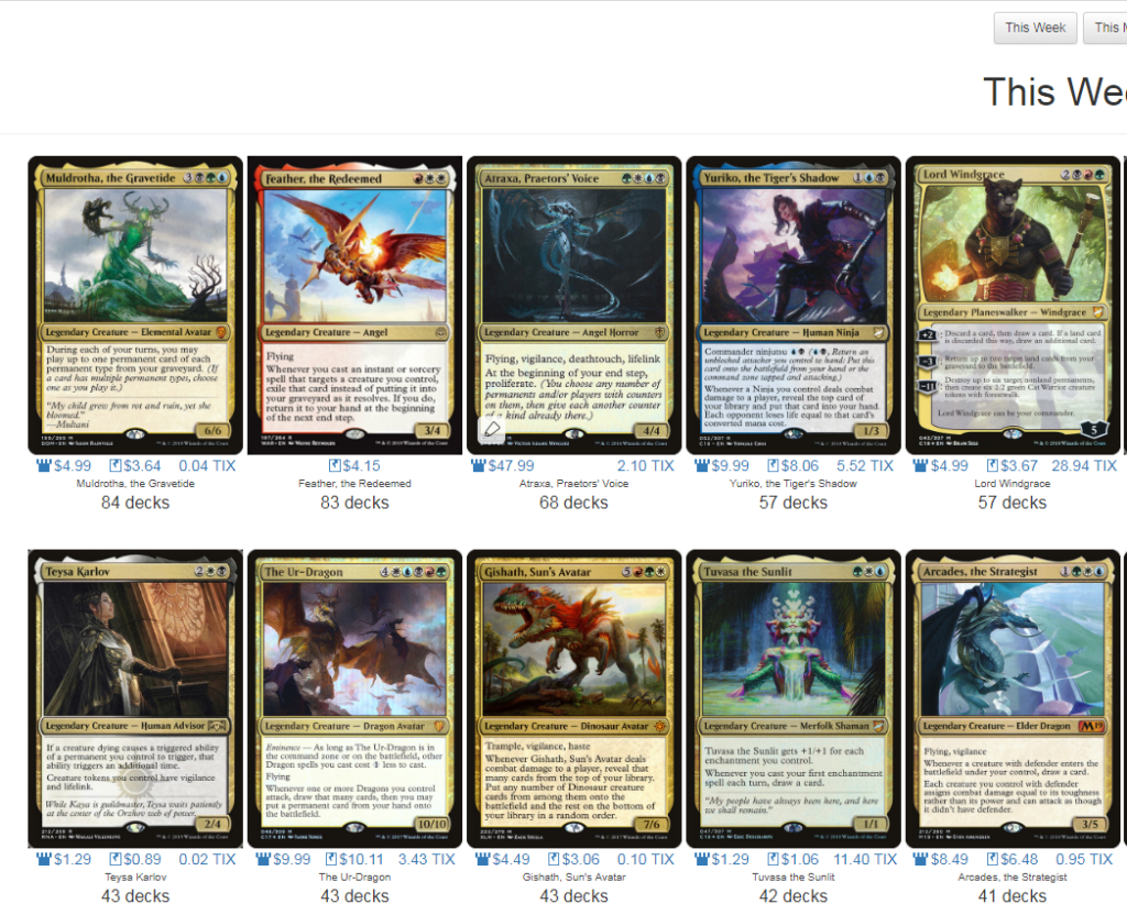 April, 2019 | MTGPrice Blog - Part 2